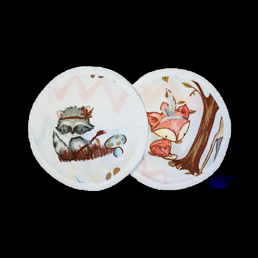 Krūšturu ieliktnīši (4 slāņi)
