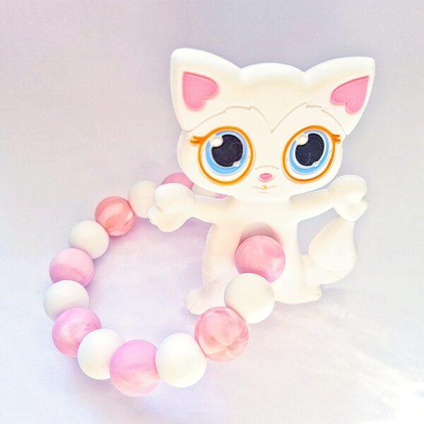Graužamriņķis silikona Kaķis