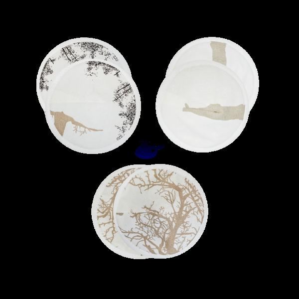 Krūšturu ieliktnīšu komplekts (3 pāri)